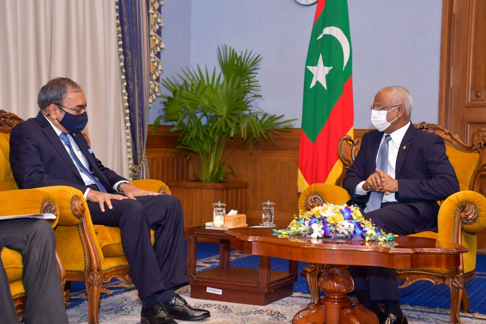President Solih reaffirms Maldives' commitment to SAARC